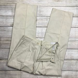 VTG Men's PRADA Straight fit pleated chino pant 32